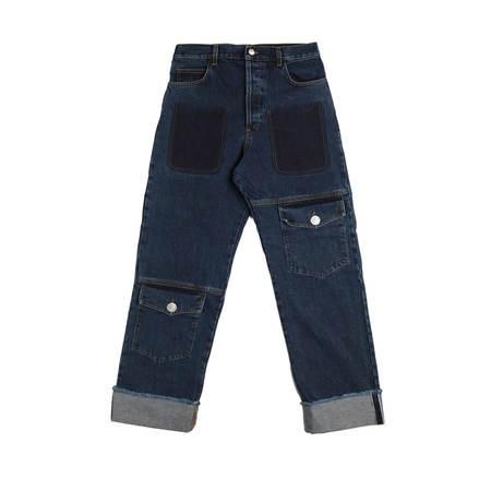 JW ANDERSON Multi Pocket Jeans - Indigo