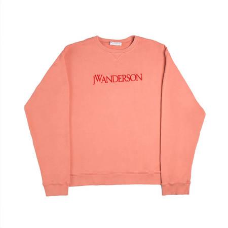 JW ANDERSON JWA Logo Sweatshirt - Watermelon