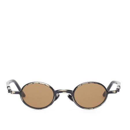 KUBORAUM Z10 BM Sunglasses - Black Matte/Brown
