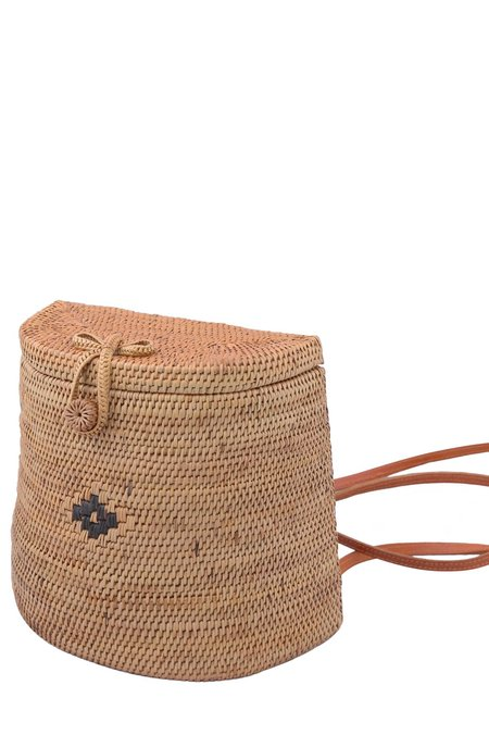The Winding Road Ata Basket Backpack - Neutrals