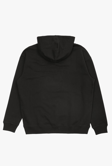 Drôle de Monsieur Embroidered NFPM Hoodie - black