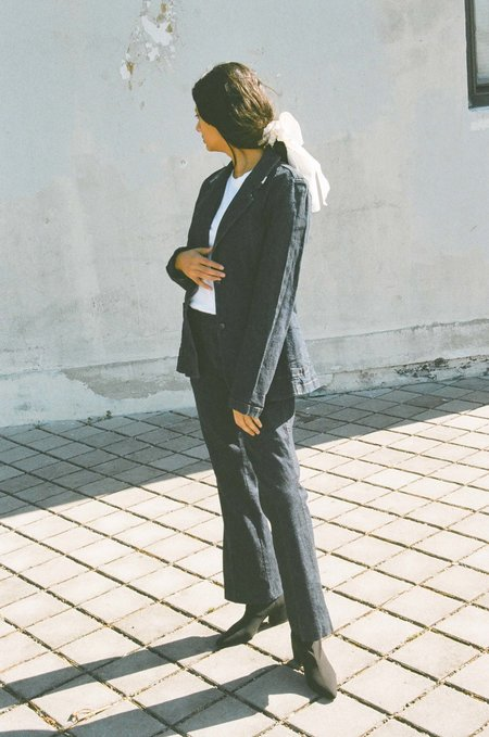 Either, And Vintage DKNY Denim Suit