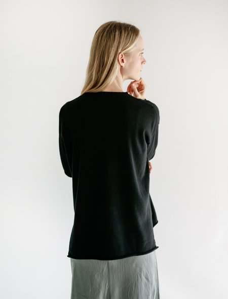 Organic by John Patrick Millie Sweater - Black