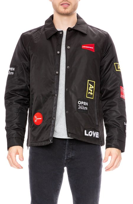 The Very Warm Grant Coach's Jacket With Lining Art And Patches
