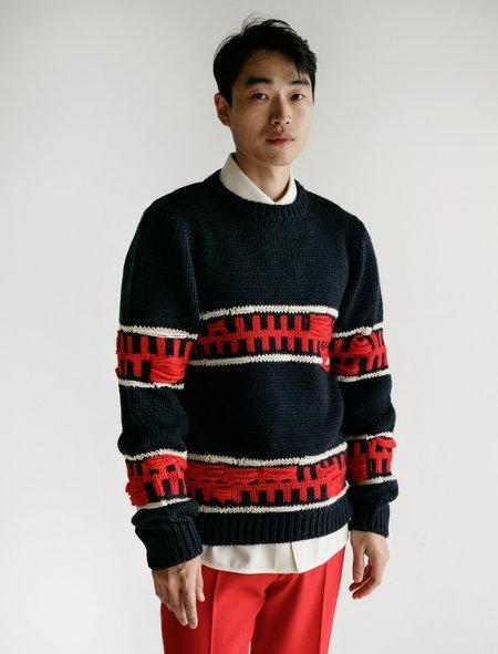 Calvin Klein Crew Neck Jumper - Graphic Stripe