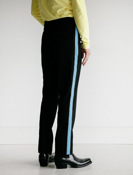 Calvin Klein Uniform Pant with Side Stripe Azure