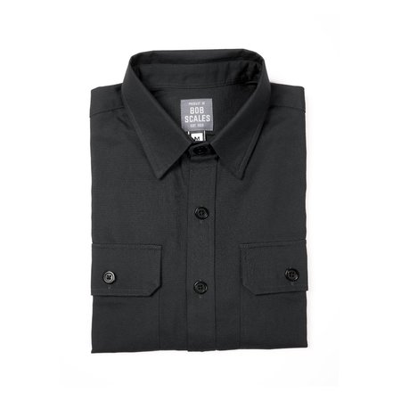 Product of Bob Scales WORK SHIRT - MUD GREY