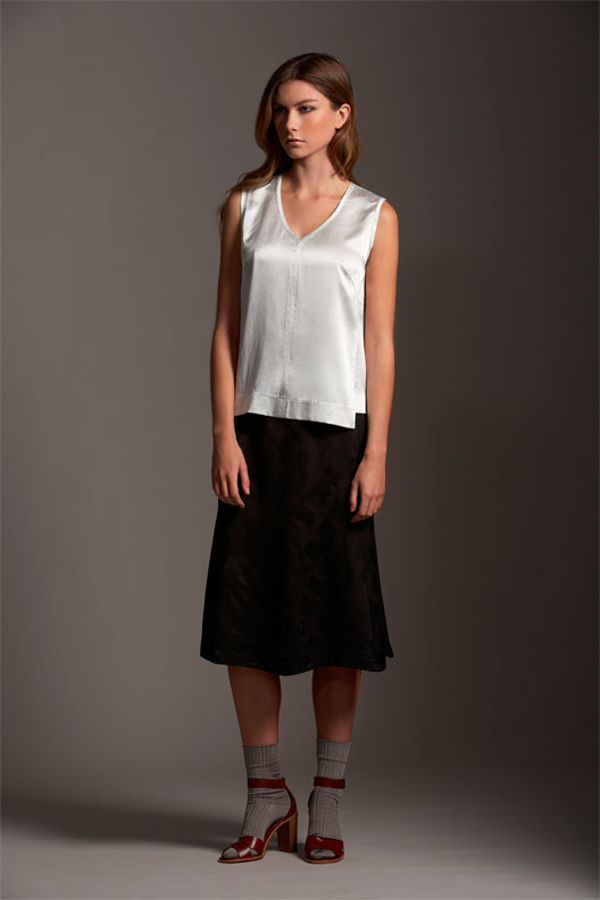 Comrags Cross Jacquard Ella Skirt