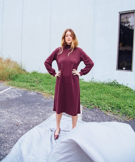 Loup Lea Dress - Wine
