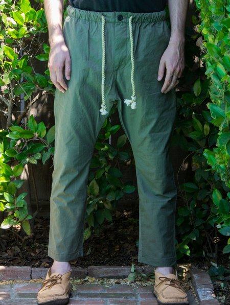 Dr. Collectors Lot P17 USMC Dropcrotch Pant - Olive Green