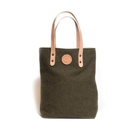 Foxtrot Supply Co. Deadstock Military Fleece Urban Tote - Olive