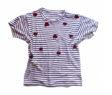 Banner Day Stripe T-Shirt
