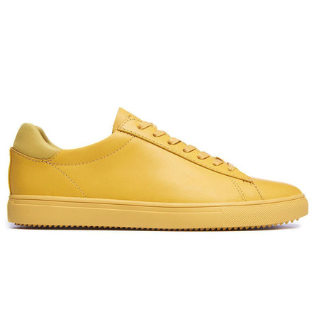 Clae Bradley Full Grain Leather Sneaker - Ochre