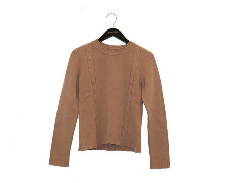 A.P.C. Angelica Sweater - Camel