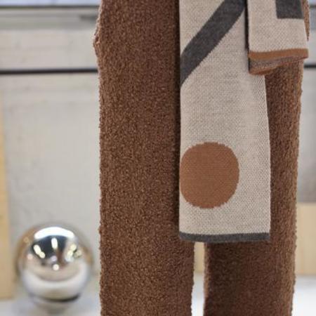 Kordal Bauhaus Scarf - Sand