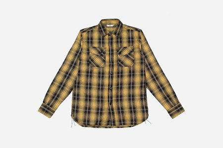 3Sixteen Crosscut Flannel - Yellow Plaid