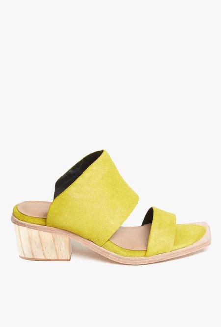 Wal & Pai Feline Calf Sandal - Yellow