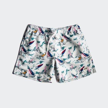Bather Swim Shorts - Baby Blue Sail
