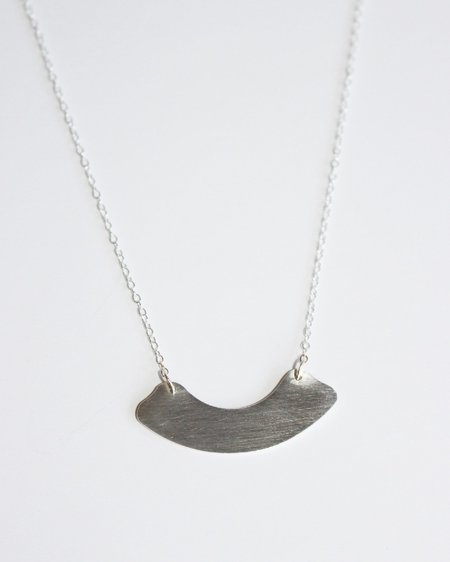 Claus Arch Necklace - Silver