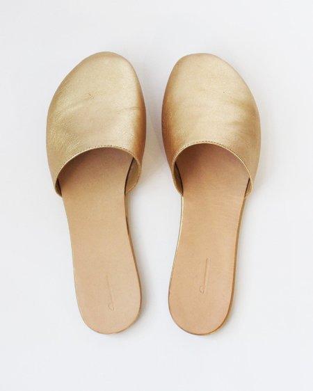 The Palatines Cognitio Slide Slipper - Golden Glaze
