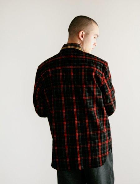 Marni Overcheck Flannel - Black Brown