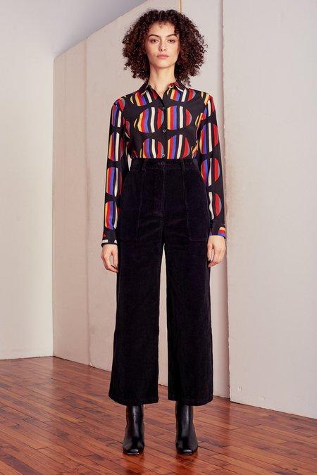 Whit NY Dada Silk Blouse - Multi