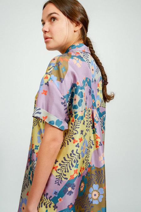 Apalma Cata Shirt Dress - DUSTY LAVENDER