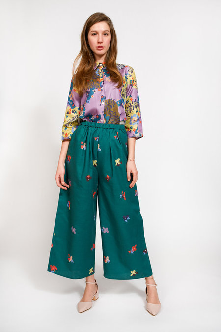 Apalma Lucia Pants - GREEN