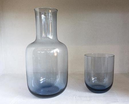 Saikai Carafe and Tumbler Set - Blue