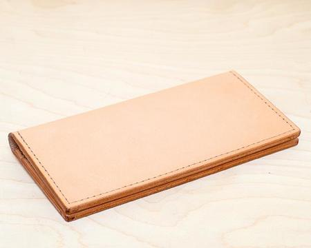 Stanley & Sons Leather Wallet - Natural