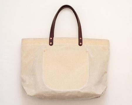 Stanley & Sons Waxed Canvas Tote