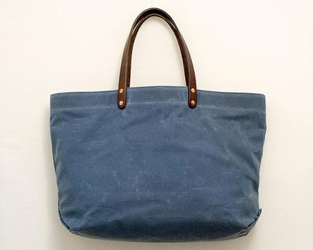 Stanley & Sons Waxed Canvas Tote - SLATE