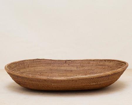 AndYu Woven Grass Basket