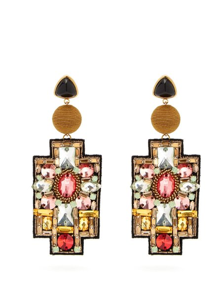 Lizzie Fortunato Madona Earrings - Camel