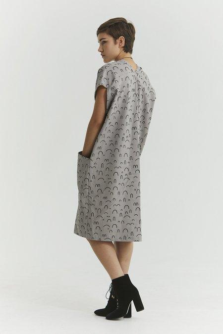 Ursa Minor Studio Genny Dress - Rose Print