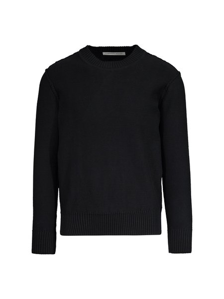 L'Homme Rouge Inverted Sweater - Black