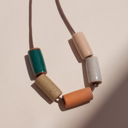 The Pursuits of Happiness Ceramic Necklace