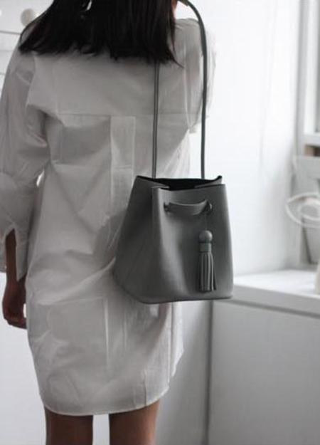 JUBINE Yolo Bucket Bag - Gray