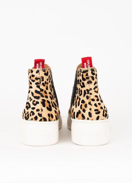 Rollie Nation Chelsea City shoe - Camel Leopard