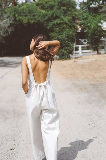 Jean Franklin Delia Jumpsuit - Cream