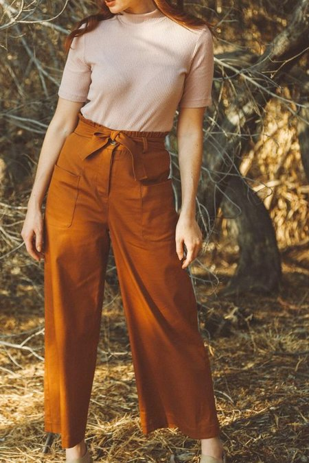 Jean Franklin Norma Pants - Maple