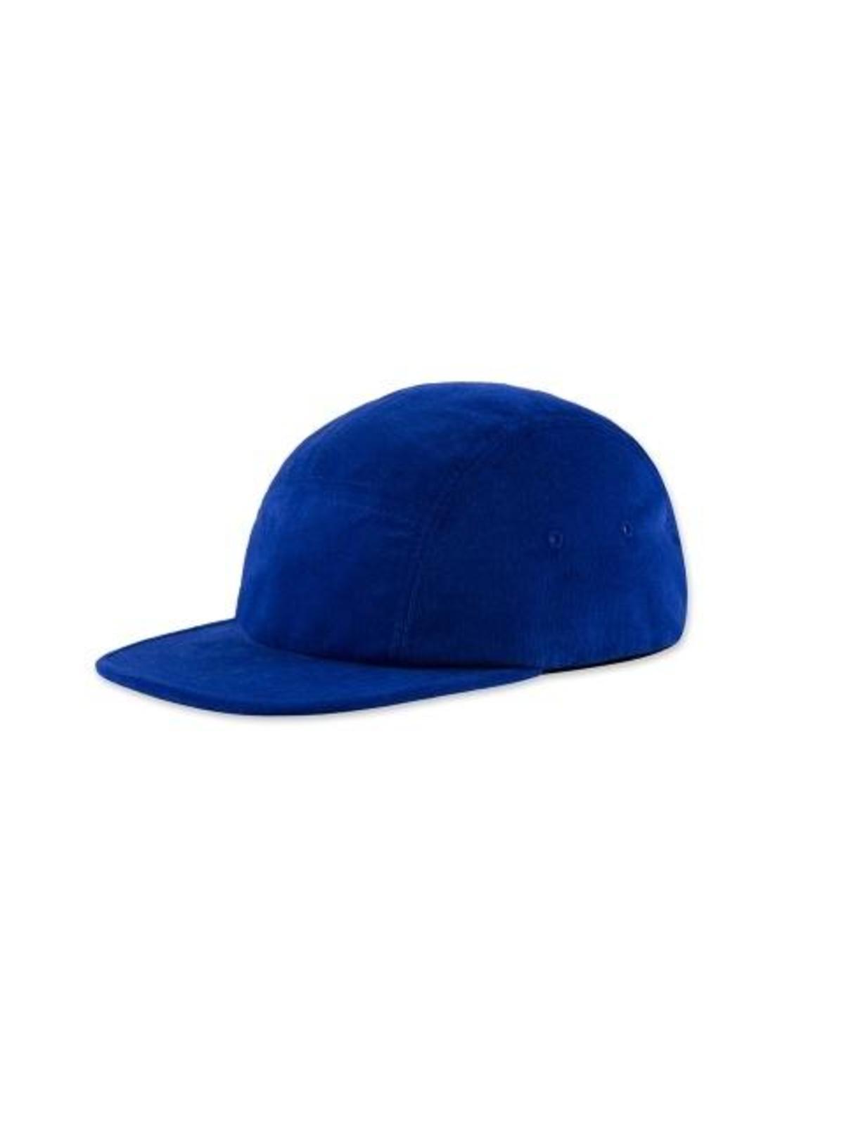 deb105a2a04 Corduroy Camp Cap Blue