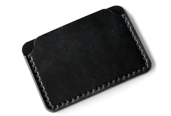 DW Leatherworks Card Wallet - Black