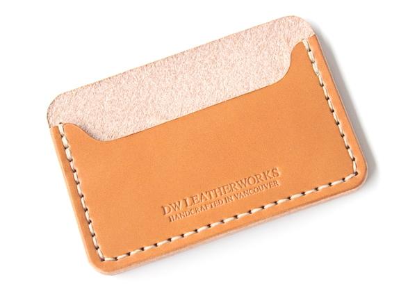 DW Leatherworks Card Wallet - Tan