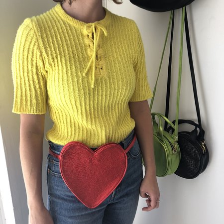 CAB Collection CAB Heart Fanny Pack - Red