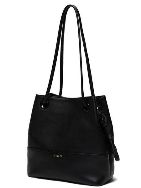 Atclip Small Knot Bag - Black