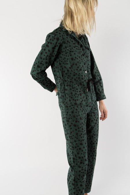 Rachel Antonoff Ziggy Jumpsuit - Evergreen