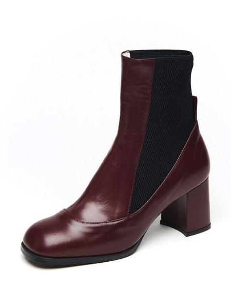 Wite Ella Ankle Boots - Wine