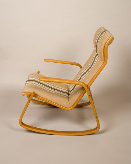 Vintage Found Ingmar Relling Westnofa Rocking Chair