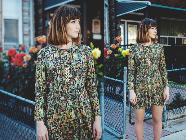 Samantha Pleet Galactic Dress | Floral